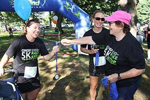 Runner with Angela Tammaro and Katie Vadasdi, MD