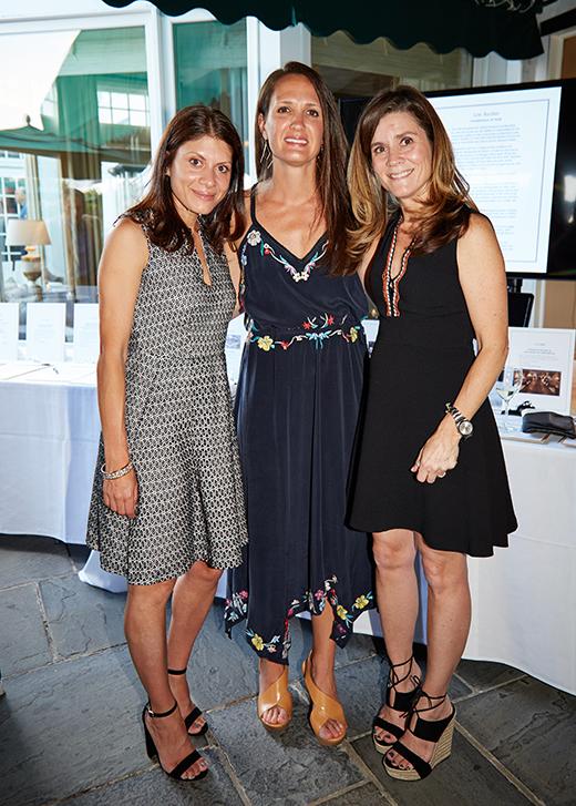 Janet Delos, Lora Greene and Amy Sethi