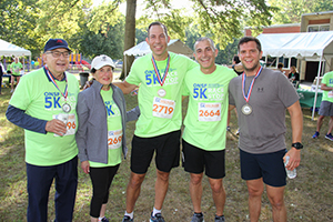 Harold & Vicki Tananbaum, Brad Gilden, DPT, Marc Kowalsky, MD and Alex Blank