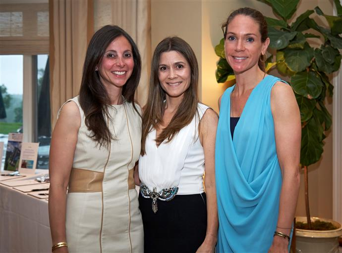 Auction Co-chairs Rebecca Karson, Amy Sethi and Lauren Mazzullo
