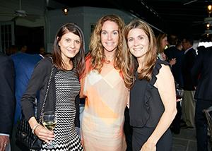 Janet Delos, Rebecca Karson and Amy Sethi