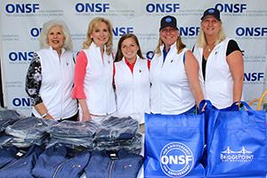Arlene Viscomi, Susan Plant, Foundation Director, Emma Robertson, Stephanie Dunn Ashley, Jackie Hvolbeck