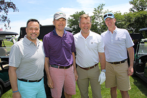 Mauro Cecchetti, Ted Krawiec, Ken Rosenquest and Kris Mineau