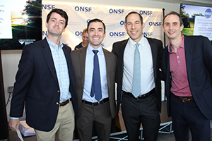 Sean Peden, MD, Matt Cantlon, MD, Brad Gilden, DPT and Eric Gersler