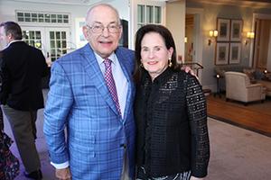 Harold Tananbaum and Vicki Leeds Tananabaum, ONSF VP and Golf Co-Chair