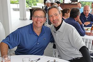 ONSF Board Members David Hirsch & Jeff Mendell, Golf Captain Chair