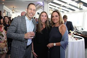 Brad Gilden, DPT, Sandra Hart and Beverly Floersheimer
