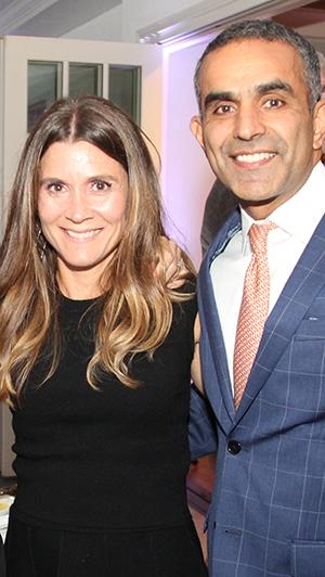 Amy Sethi, Auction Chair & Paul Sethi, MD
